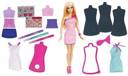 Barbie Design A Fashion Rubbing Plates