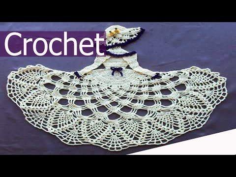 Carpetas tejidas a CROCHET parte 1 - Con diseño - YouTube