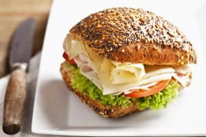 Delicious Warm, Crisp, and Cheesy Baked Sandwiches: Baked Turkey Sandwiches