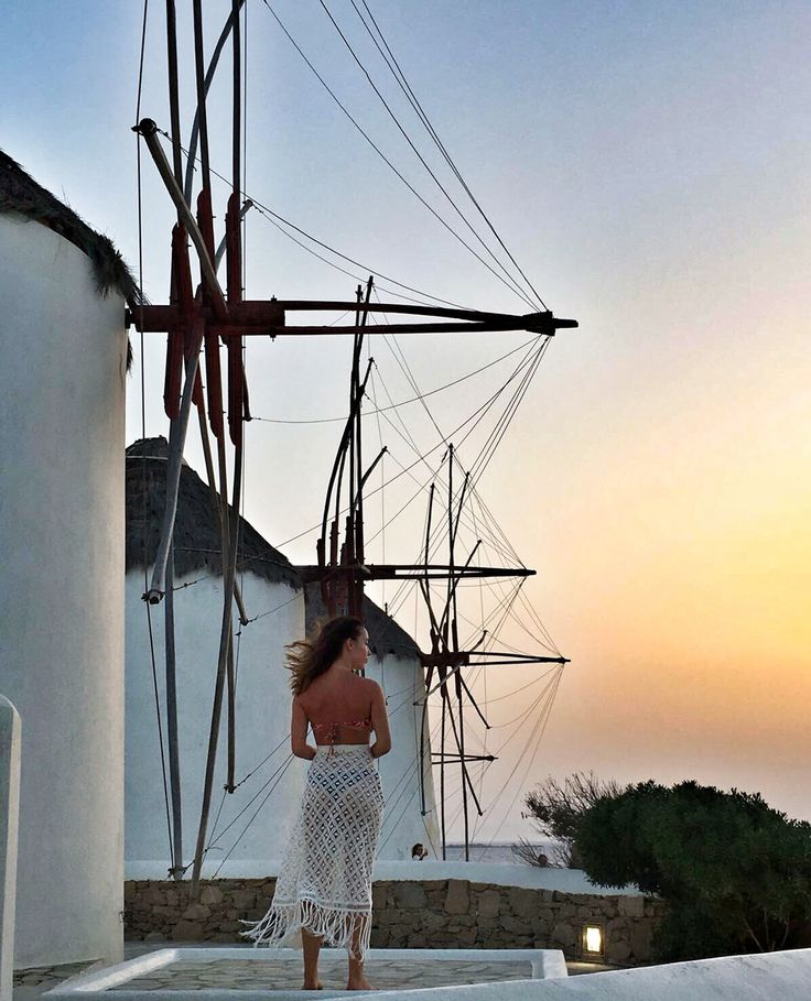 Lace pareo in Mykonos