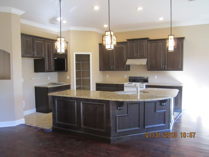 Designed and installed by Statewide Cabinetry using Mid Continent Cabinetry