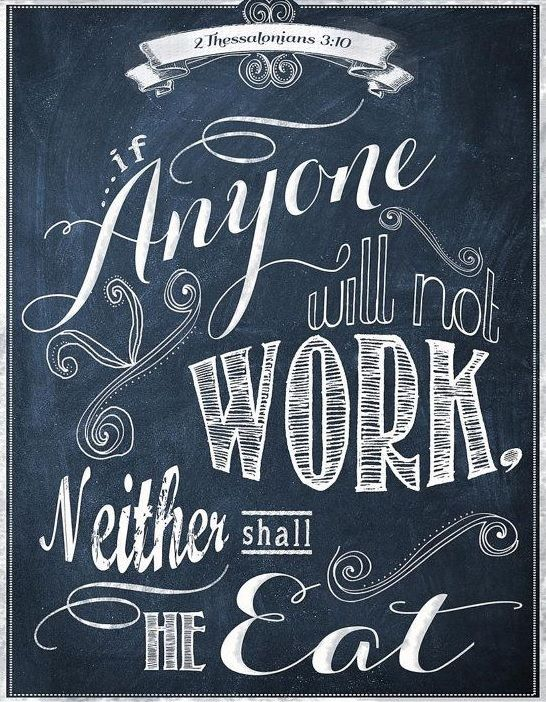 2 Thessalonians 3:10
