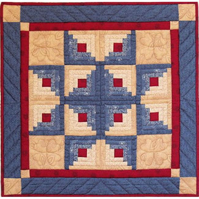151 best Log Cabin Quilts images on Pinterest | Bright art ... : easy log cabin quilt pattern - Adamdwight.com