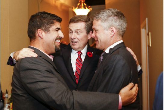 Nick Kouvalis was John Tory's 'Ford whisperer':  Strategist and political mastermind who helped keep John Tory out of the 2010 election was a key player in helping Tory getting elected mayor in 2014.  (Toronto Star 03 \November 2014)