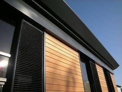 cedar cladding with aluminium