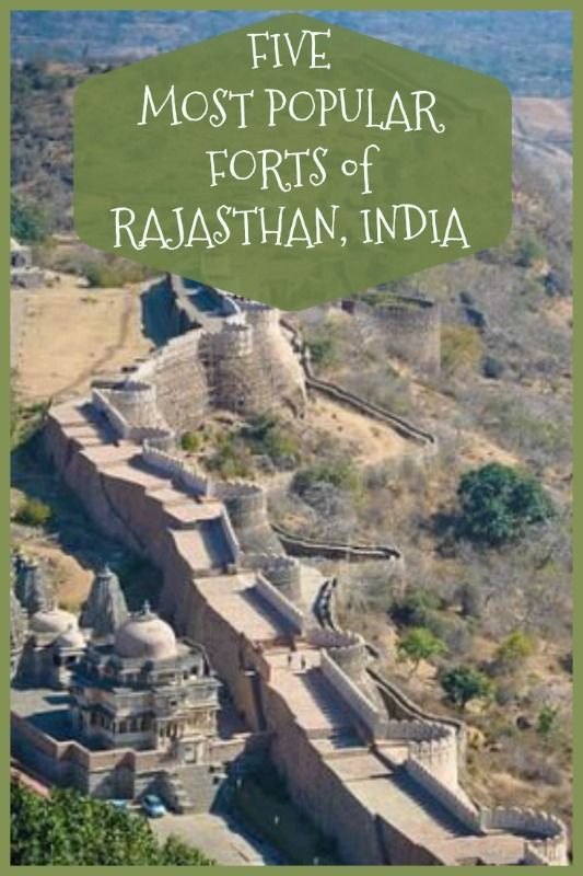 Rajasthan, India is the land of the Great Indian Desert...and these are the forts you just have to see to believe!