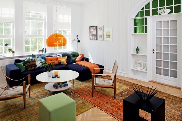 Bohemia-style  in a Scandinavian interior : Great combination