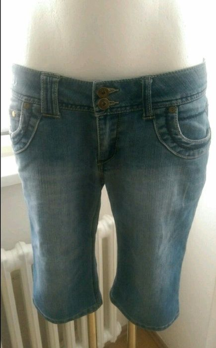Shorts lange Shorts Jeans