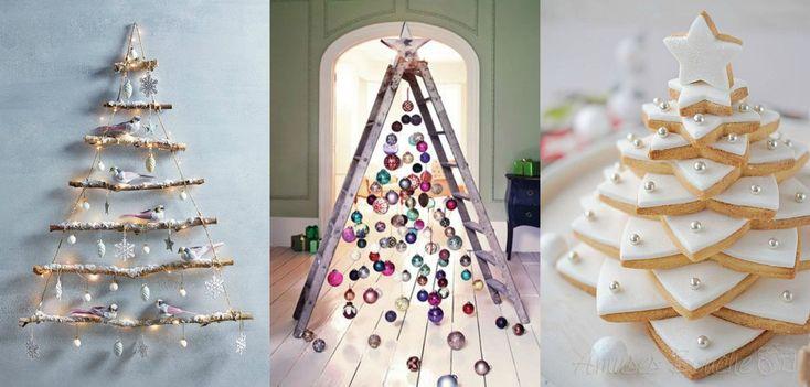12 alternatives au sapin de Noël