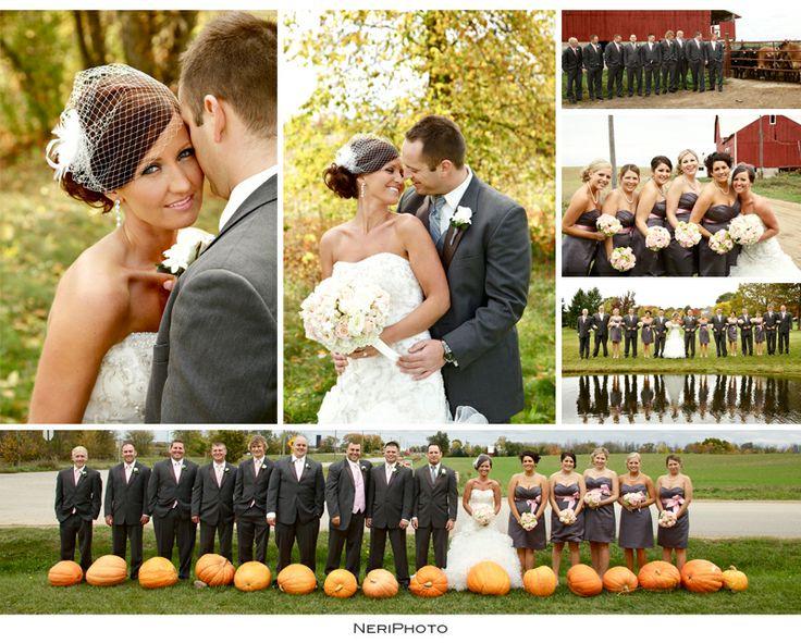 Fall Weddings In Michigan Photography