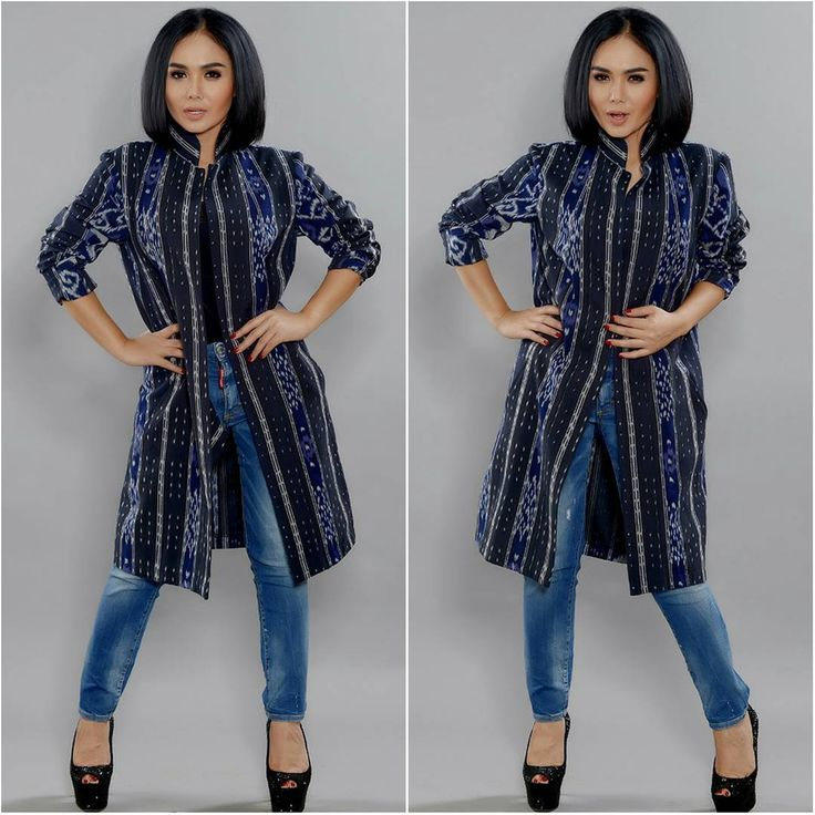 Handwoven Ikat Outer