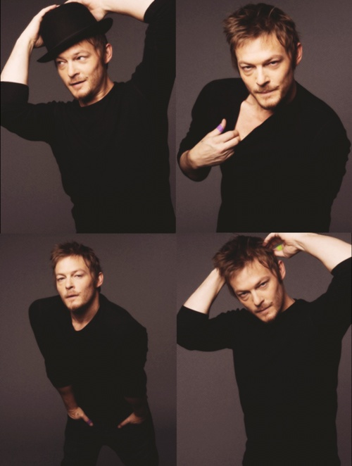 The Walking Dead Daryl Dixon Norman Reedus. Hehe :) yes I wish I could meet him!!