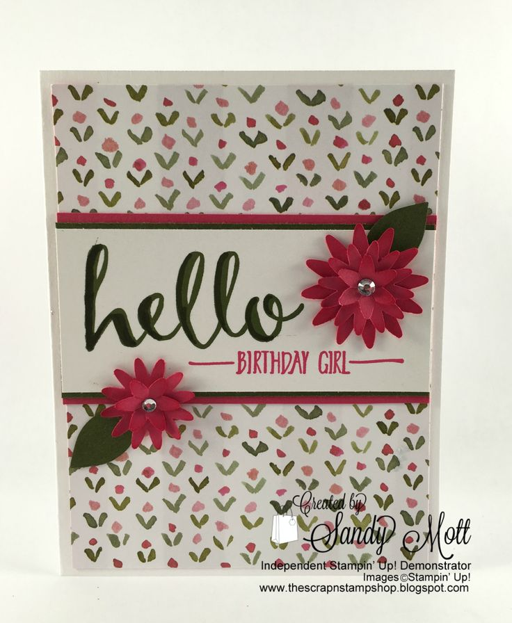 Here Is A Couple Of Fairly Easy Cards I Designed For Stamp Camp Yesterday Used The Sale Bration Set Hello That You Can Get