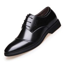 Gogett-hers     Tag a friend who would love this! Gogett-hers    Gogett-hers Get it here ---> http://www.gogett-hers.com/products/2017-fashion-mens-dress-shoes-pointed-toe-lace-up-oxfords-for-man-leather-oxford-men-business-shoes-office-formal-shoe-x0501106/