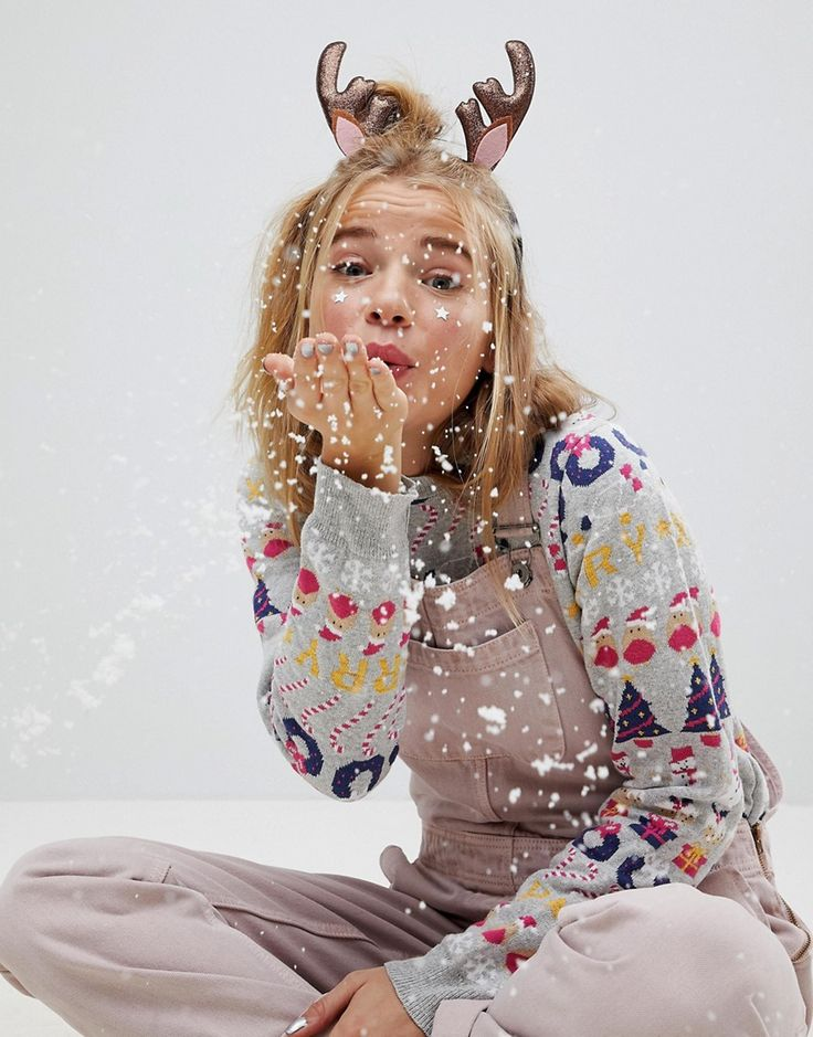 ASOS Holidays Reindeer Hairband - Multi