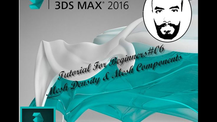 3ds Max Tutorials For Beginners #06 Mesh Density & Mesh Components