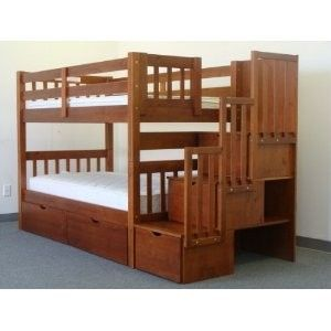 homemade bunk bed - Google Search