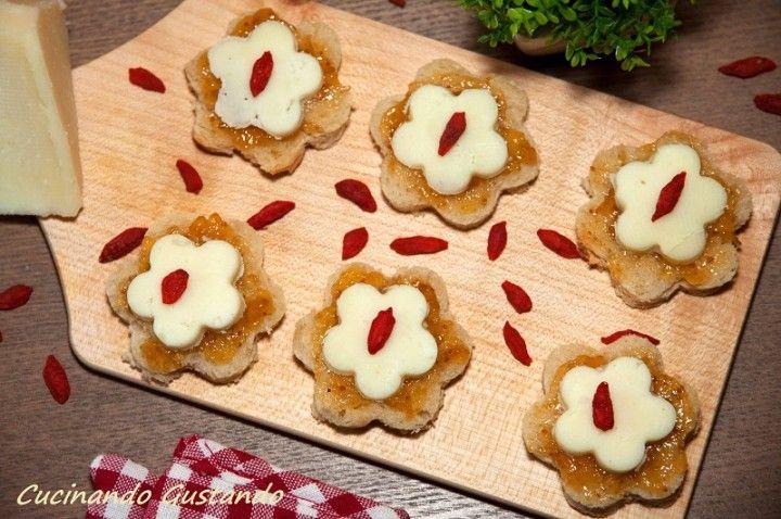 Antipasto marmellata fichi e pecorino