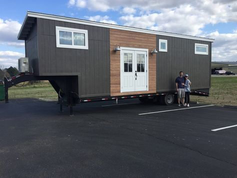 The Fifth Wheel tiny house from the Tumbleweed Tiny House Company.