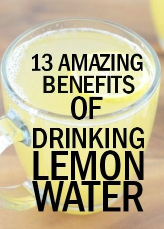 Benefits of drinking #lemon #water