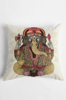 V Ramos Ganesha Pillow by Urban Outfitters on HavetoHave.com