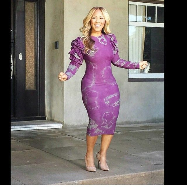 ღ Erica Campbell's Dress