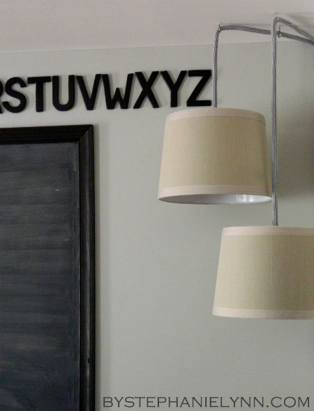 Under The Table and Dreaming: Simple DIY Plug in Drum Pendant Lighting {How to turn a Lamp Shade into a Hanging Pendant Light – the easy way}