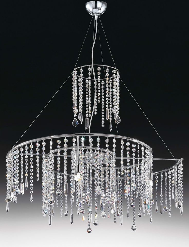 Crystal chandelier Gamma 100 by #Voltolina