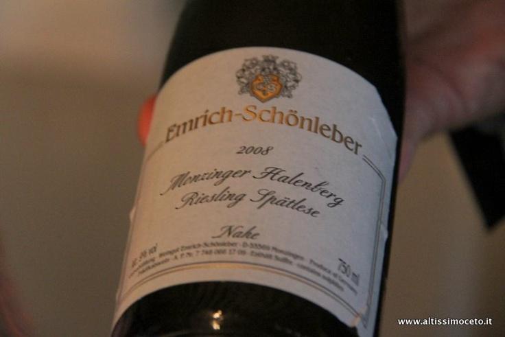 Halenberg 2008Riesling Spätlese VDP Nahe – Weingut Emrich-Schönleber