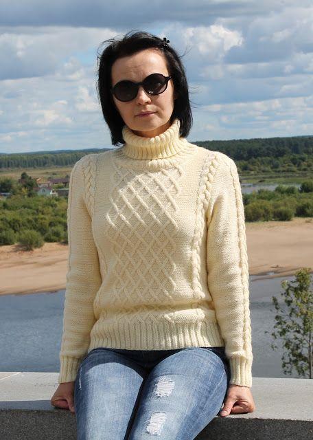 Сегодня решила показать вот этот весьма традиционный свитер , который совершенно незаменим в каждом гардеробе . Его приятно надеть прохладн...