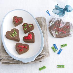 Recept - Chocoladeharten - Allerhande