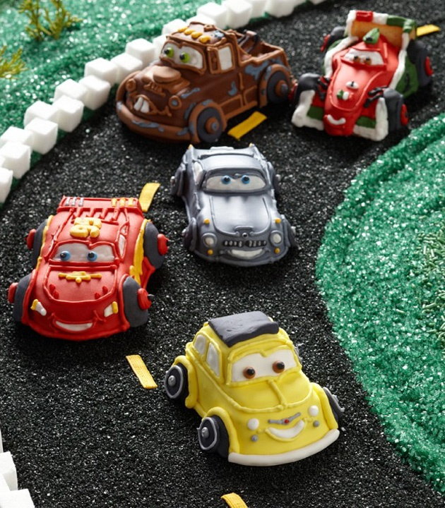 Disney Cars 2 cupcakes from Williams-Sonoma.com