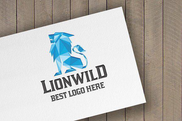 Lion Wild Logo by tkent on @creativemarket