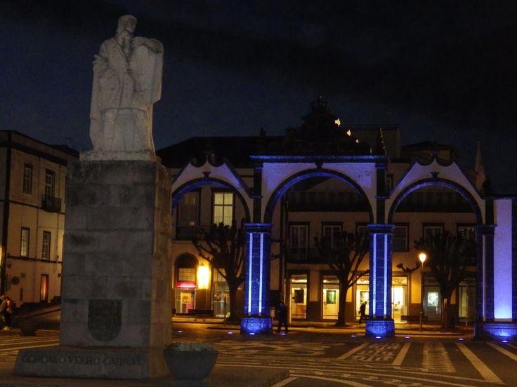 Portas da Cidade (City Gate) in Ponta Delgada. Taken 2-17-14