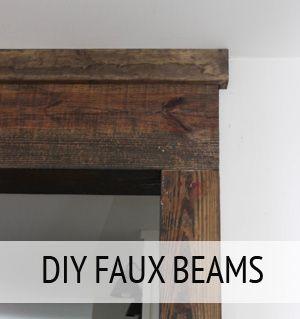 Best 25 Faux Wood Beams Ideas On Pinterest Faux Beams