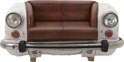 Διθέσιος Καναπές Γνήσιο Δέρμα 164cm*70cm 3-50-189-0027