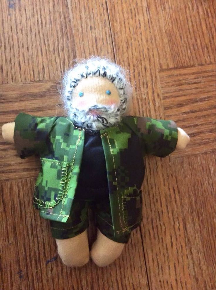 Excited to share the latest addition to my #etsy shop: Custom 10 -8 inch dooder doll perfect for little hands or doll collectors