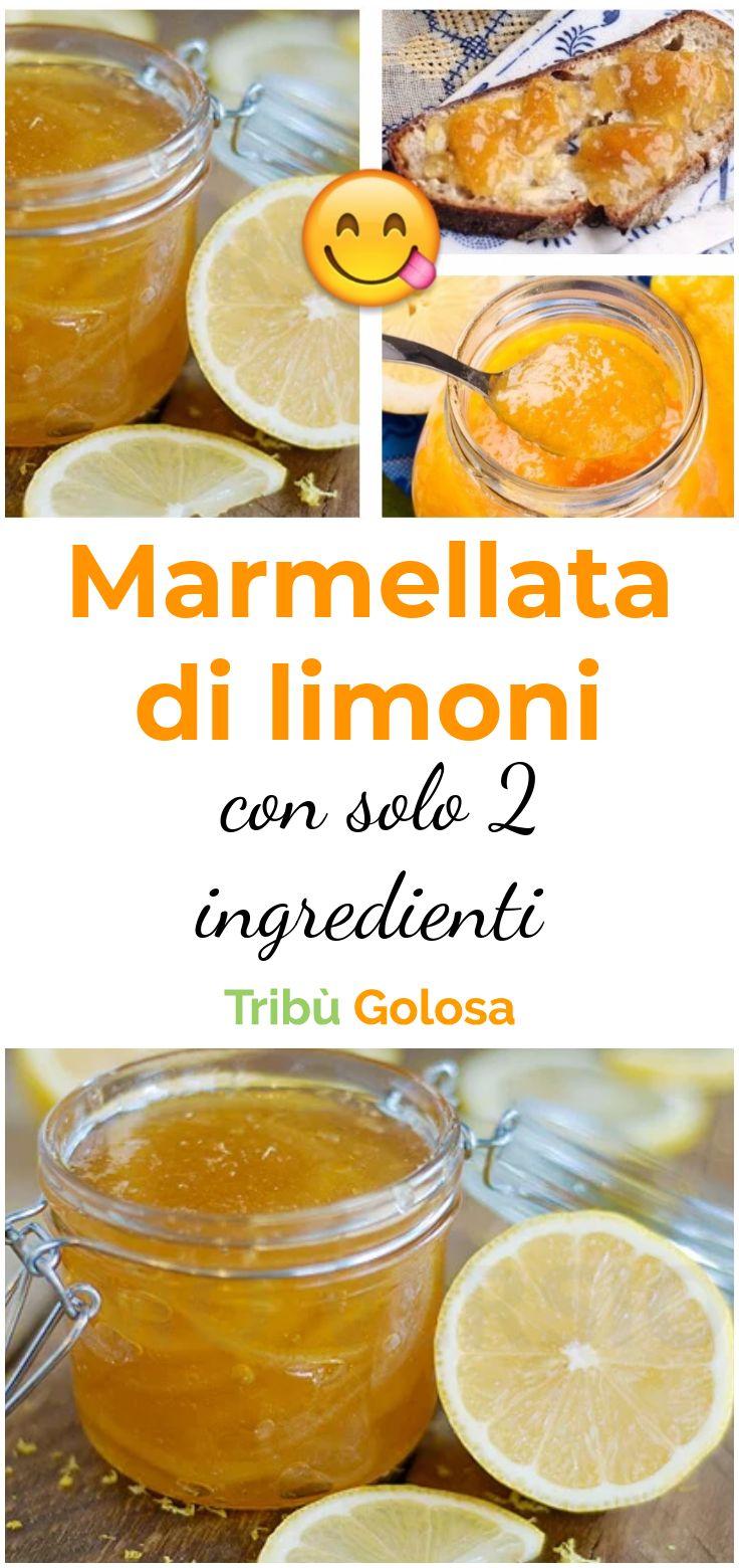 La marmellata di limoni con solo 2 ingredienti