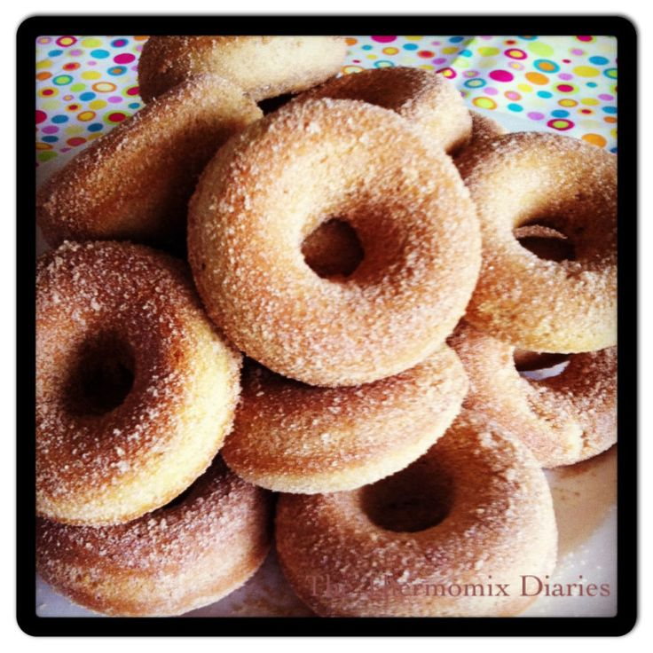 Baked Cinnamon Donuts - The Thermomix Diaries