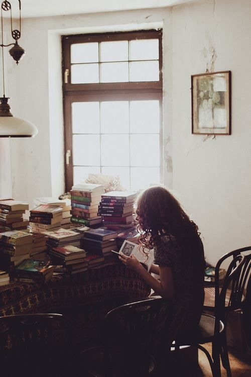 What a beautiful landscape of books laid out in front of you! You may need a map to find your way through, but it will be a most rewarding journey, I'm sure.