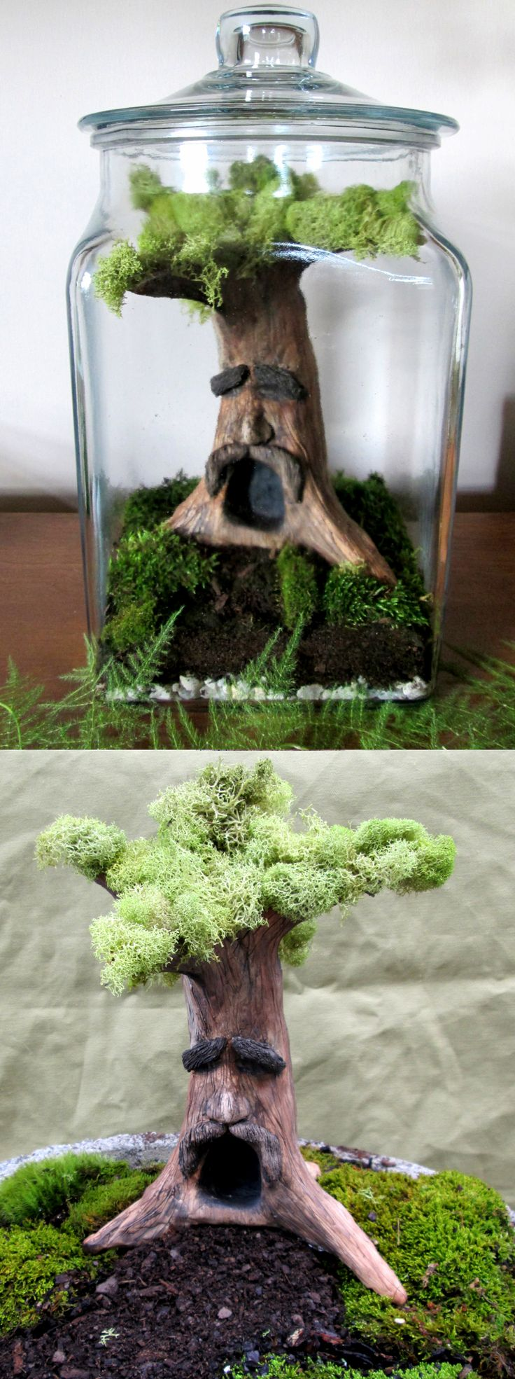 Own a piece of Hyrule with a Great Deku Tree terrarium! Includes everything you need to create and display your very own lively Legend of Zelda themed garden that comes ideal for fans of the game and nature lovers alike.