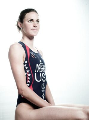 #44 of the 50 Hottest American Olympians- Gwen Jorgensen is a former competitive runner and swimmer out of the University of Wisconsin. After graduating, she was recruited by U.S. triathlon officials who convinced Jorgensen to take up training for the event. It paid off, because within a few years, she earned a spot on her first Olympic team for the London 2012 games.
