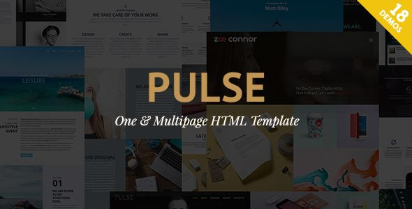 Pulse - Premier HTML Template (Business) - http://wpskull.com/pulse-premier-html-template-business/wordpress-offers