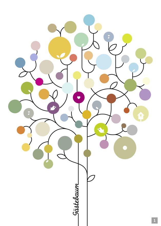 GÄSTEBAUM   |    Hochzeit, Geburtstagsbaum