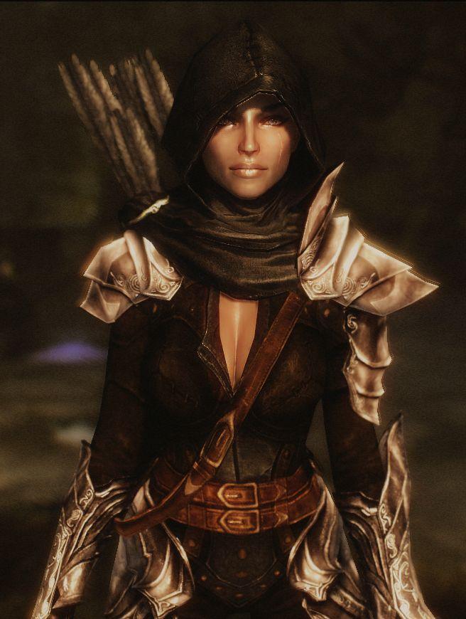 OK OK OK OK OK   Dread Hunter and Huntress Armor Echo at Skyrim Nexus - mods and community