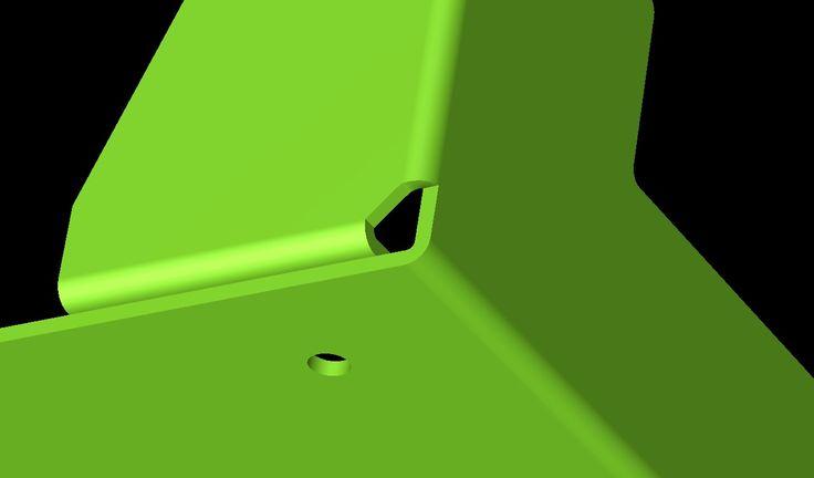 Development of sheet metal corner bend conditions in Radan software http://www.vandf.co.uk/software/radan-software/