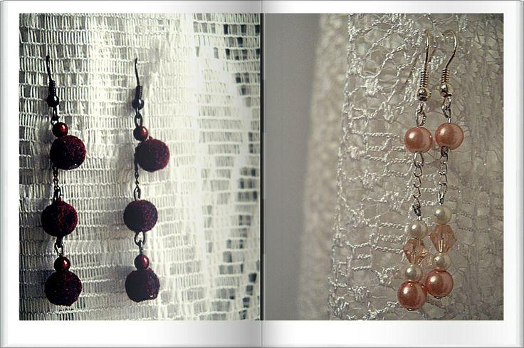 Pearls and velvet!