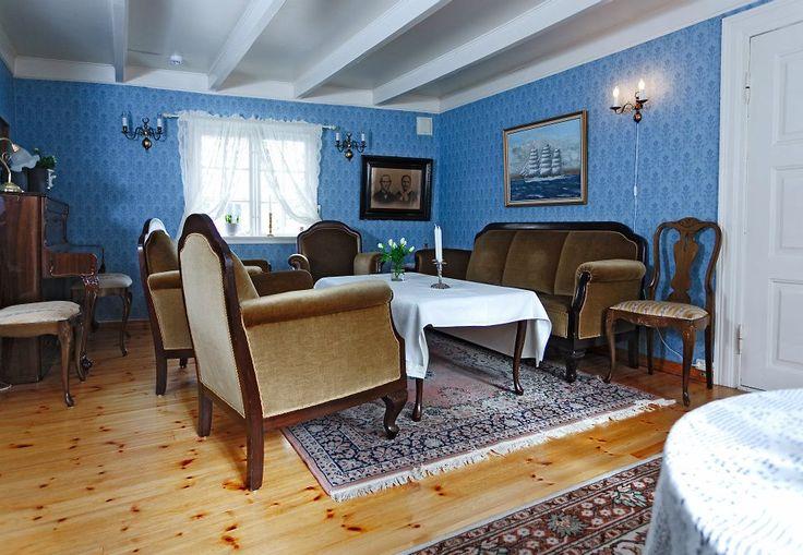 Livingroom anno 1843, before re-opening
