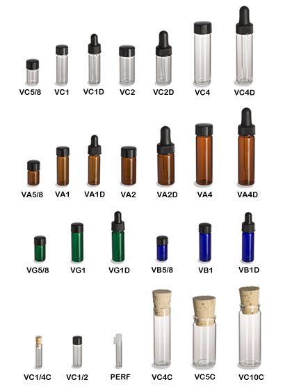 Specialty Bottle - Glass Vials - for the tea favours. Also has soooo many other types of bottles and jars on the cheap.