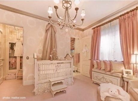 Plush pink nursery
